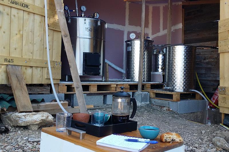 la distillerie